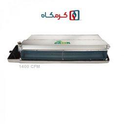 فن کویل سقفی توکار گرین مدل GDF1400P1