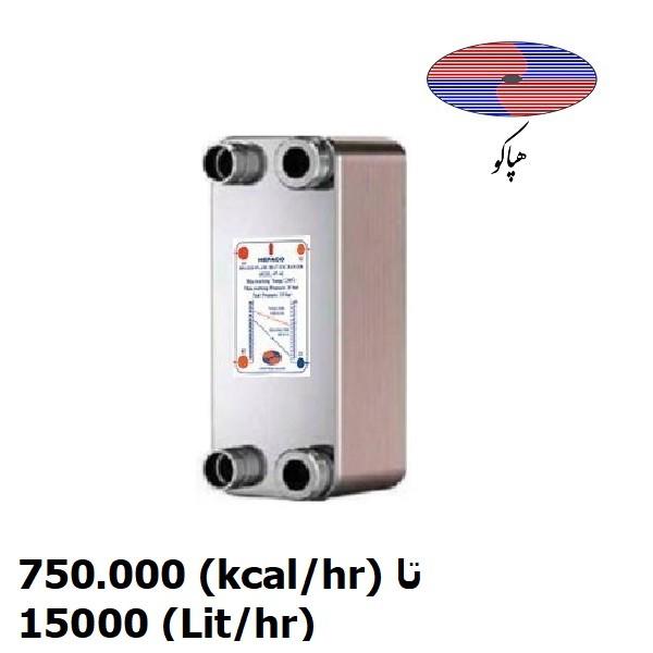 مبدل-حرارتی-صفحه-ای-هپاکو-مدل-hp-1500