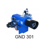 مشعل دوگانه سوز گرم ایران مدلGND301