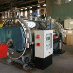 بویلر (دیگ) بخار سه پاس پاکمن مدل PSBH1